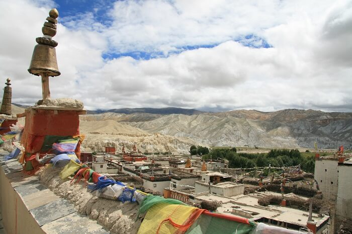 Lo Manthang in Mustang is one of the best Nepal honeymoon places