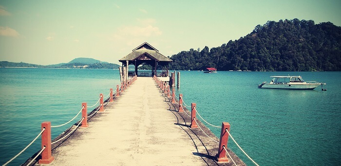A resort at the Pangkor Island