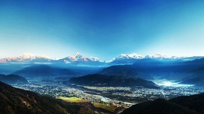 Trekking-Pokhara Valley is among the popular Nepal places to visit