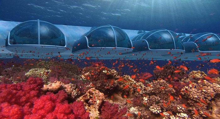Australian underwater hotel