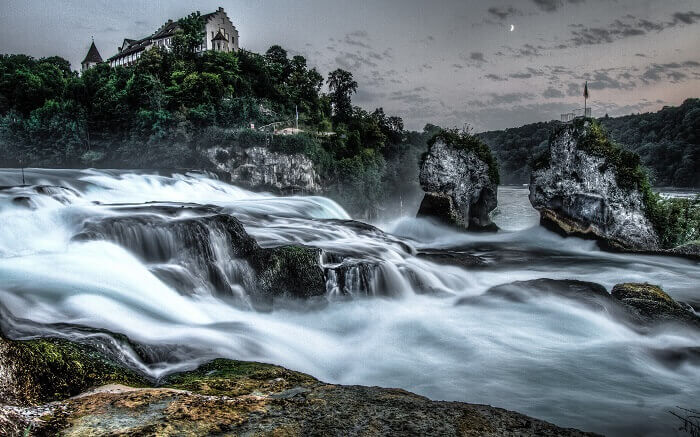 The magical Rhine Falls