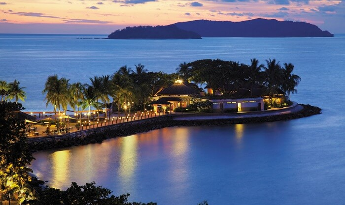 Shangri La resort is one of the best resorts in Malaysia
