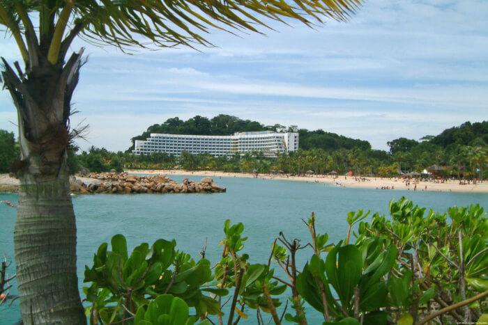 Siloso Beach in Singapore