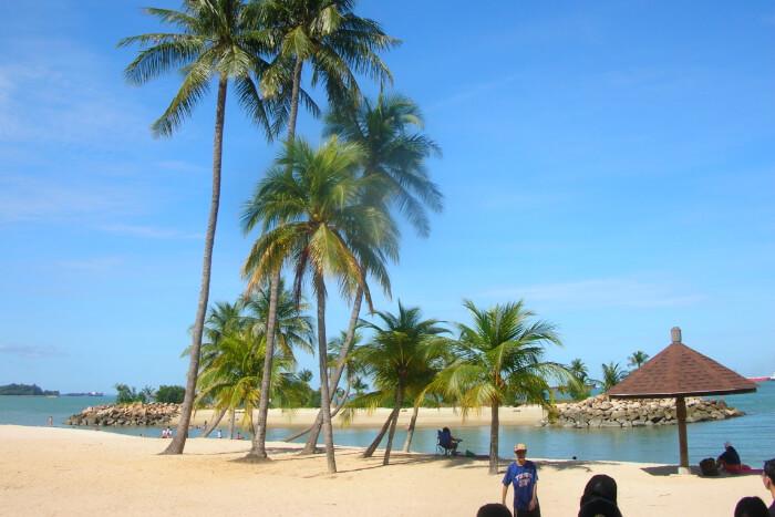 Tanjong Beach in Singapore