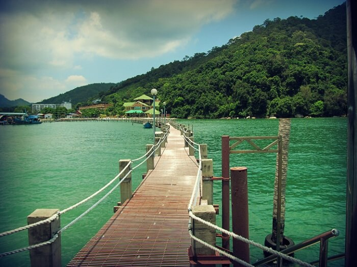 Scenic beauty of the Teluk Duyung, Penang