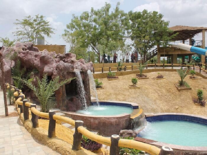Tirupati Rushivan Adventure Park is a nice getaway for a dayout at a one day picnic spot near ahmedabad