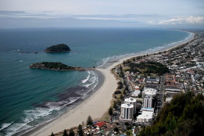 Ocean Beach at Mount Maunganui