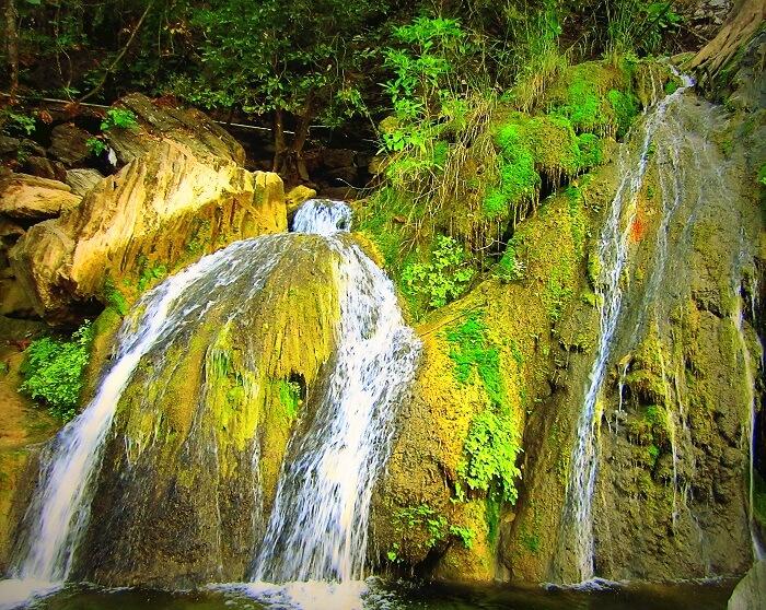 Waterfall at Amba Khori — a popular picnic spot near Nagpur