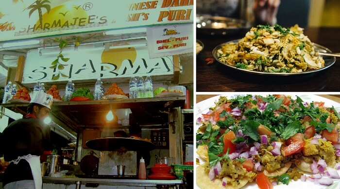 Bhel Puri and Sev Puri are among the best dishes of street food in Mumbai