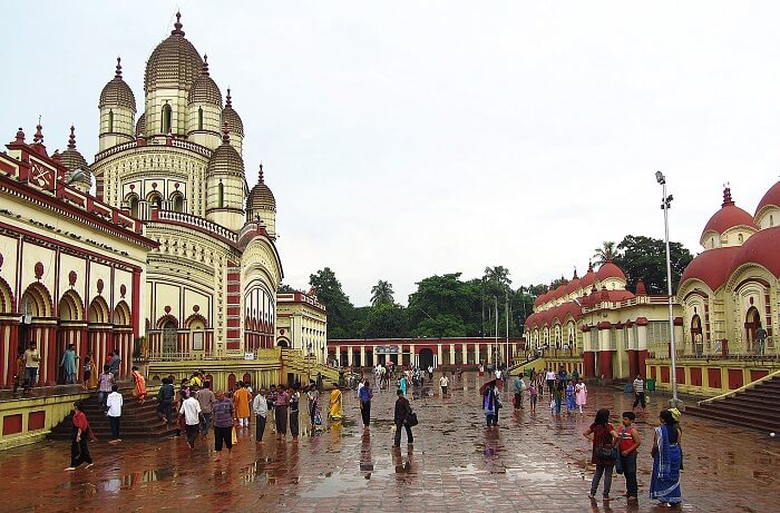 Kali temple at Dakshineshwar near Kolkata
