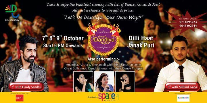 The Grand Dandiya Nights at Dilli Haat at Janak Puri