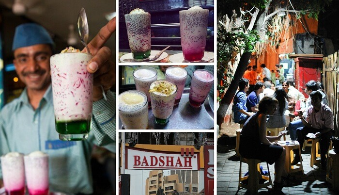 Best falooda in Mumbai is sold at Badshah Corner