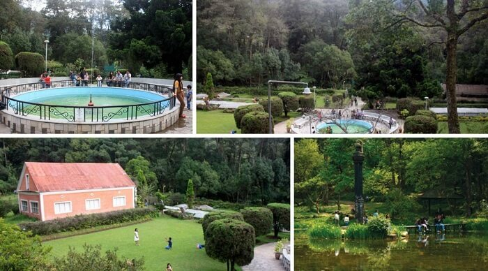 Many views of the Royal Botanical Gardens at Godavari