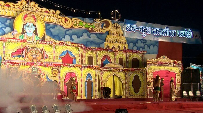 Luv Kush Ramlila in Delhi is the most glitzy and famous ramlila