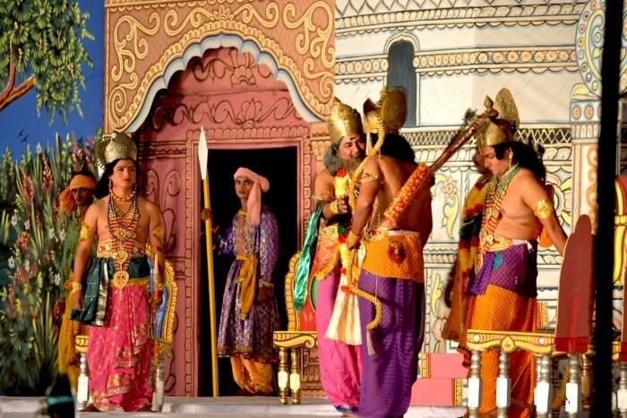 Actors of the Shri Ram Lila Committee