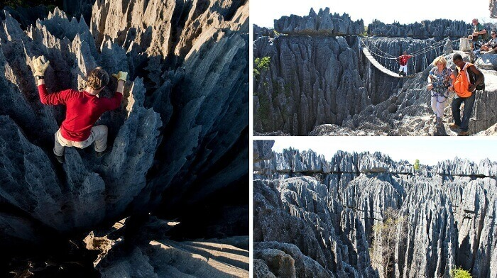 The many views of Tsingy de Bemaraha in Madagascar