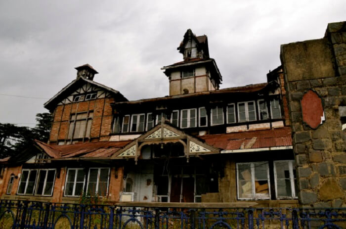 A haunted house in Shimla