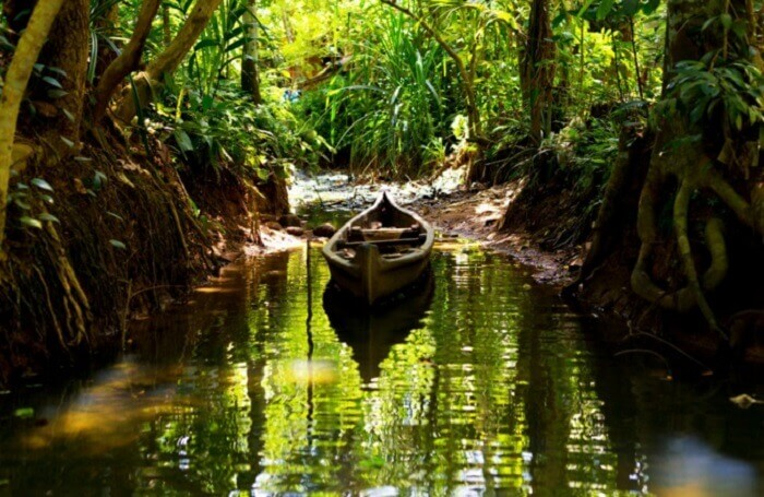 The secret backwater of Kerala