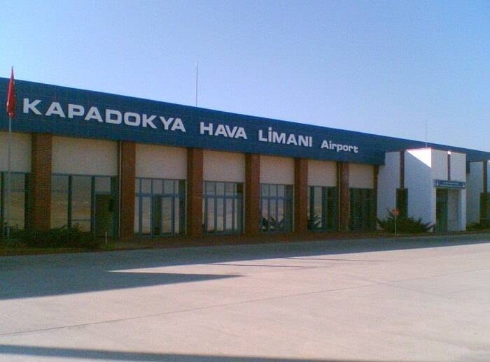 On arriving at the Cappadocia Airport