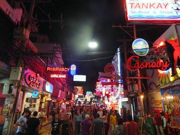 A view from the streets of Pattaya