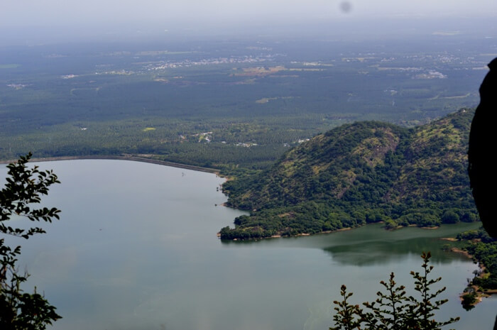 View from the hills in Kodaikanal