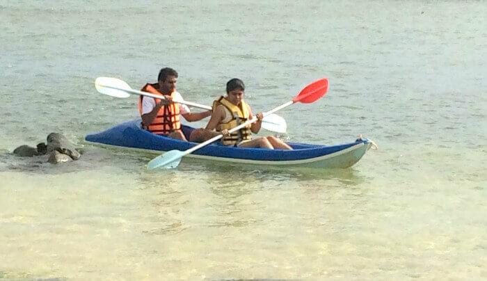 Adventure sports in Mauritius
