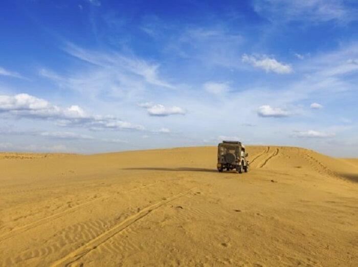 Desert Safari at Sam Sand Dunes