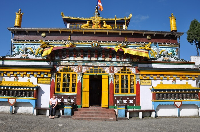 Ghoom Monastery is a popular tourist place in darjeeling
