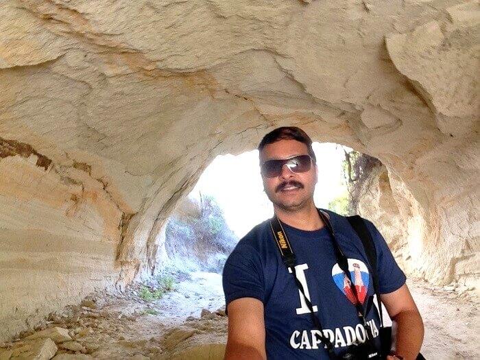 Selfie at Cappadocia