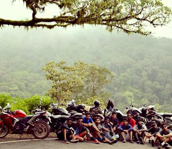 Biker Gang on the Way to Ooty