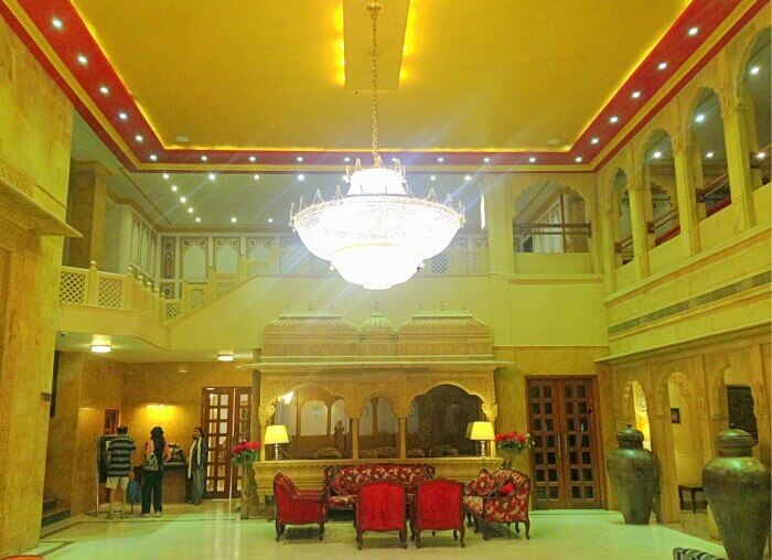Inside Raj Mahal