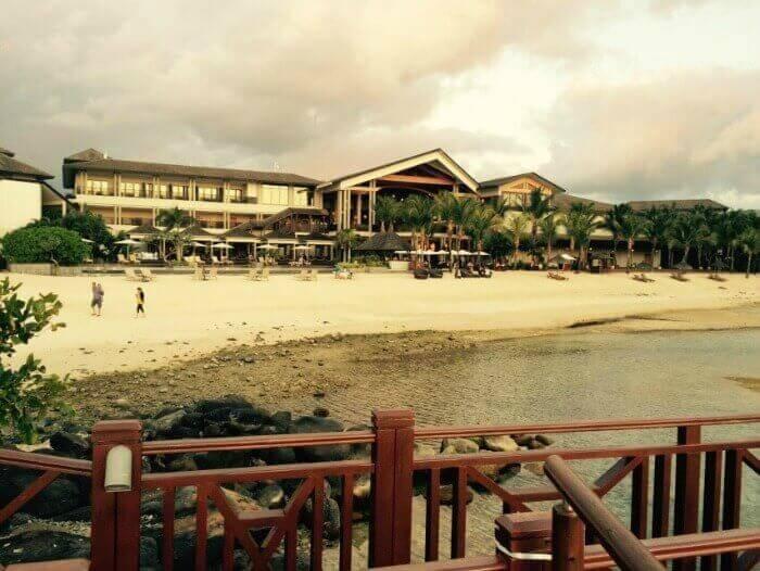 The luxurious InterContinental Resort Mauritius