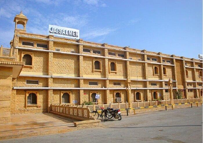 Entry at Jaisalmer Railway Station