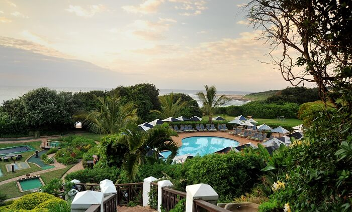 Beautiful Pumula Beach Hotel Is Another Name Among The Best Resorts In South Africa