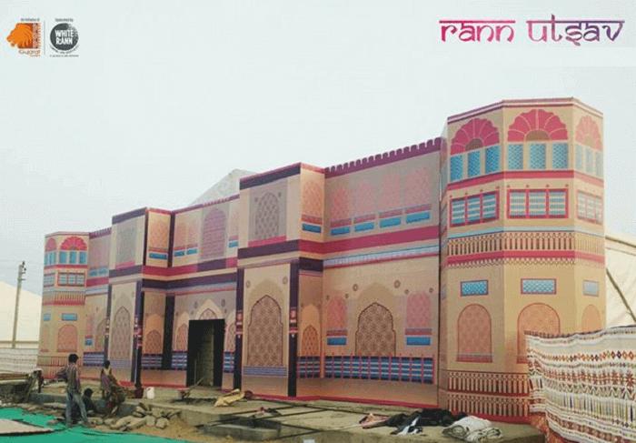 A promotional poster of Rann Utsav