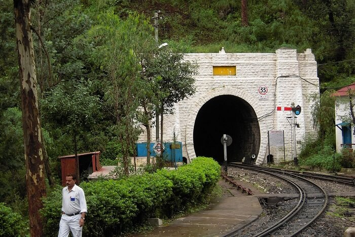 Tunnel 33 is the most infamous haunted place in Shimla
