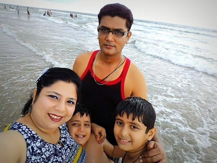 The Johars on their vacation