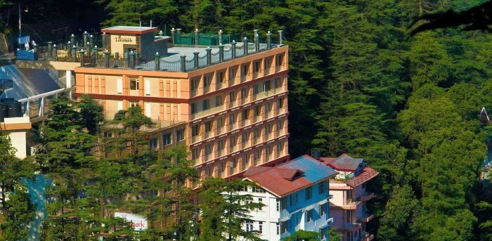 Hotel Landmark is one of the best hotels in Mall Road Shimla