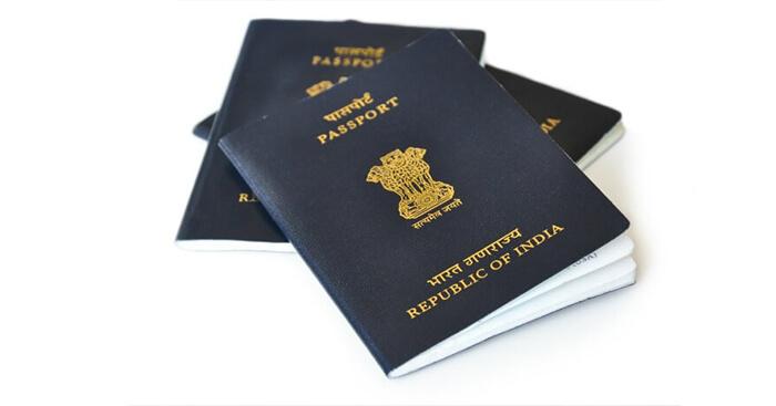 The passport of India
