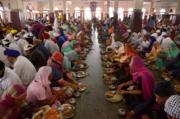 Langar at  Golden Temple