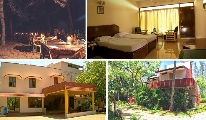 A collage of the many views at Mamalla Resort