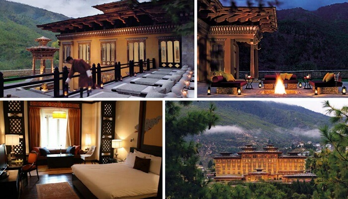 Taj Tashi is one of the best 5 star hotels in Bhutan