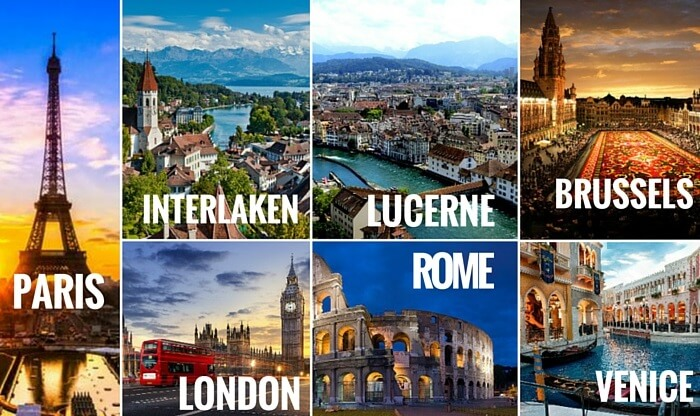 Italy Package Tours From Usa