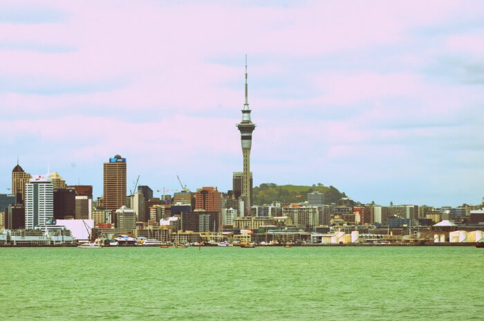 Beautiful city of Auckland