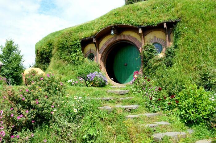 Enchanted land of Hobbiton, New Zealand