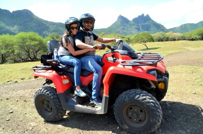 Quad Bike in Casela Nature Park