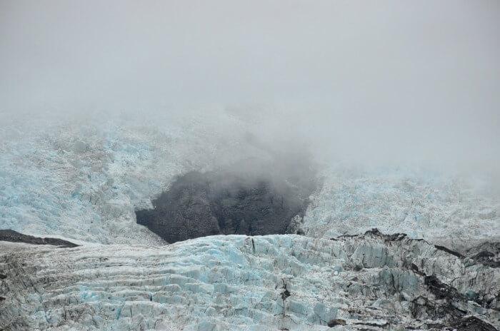 Stunning glacier in New Zealand