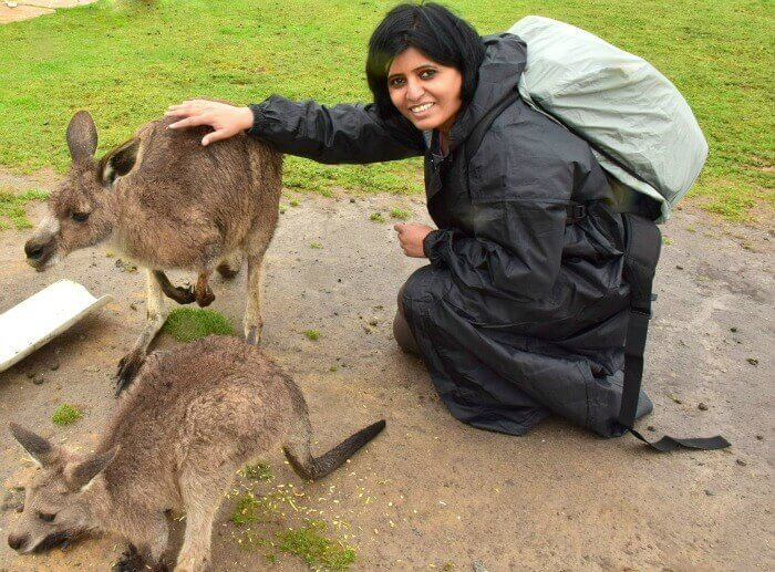 Bhavana's trip to Australia