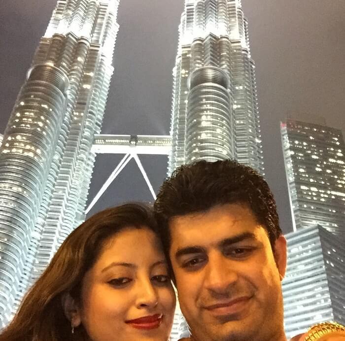 Visit to Twin Towers in Kuala Lumpur