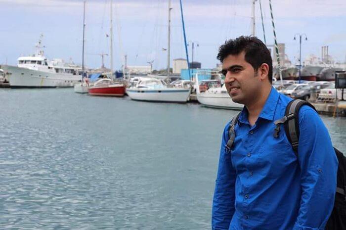 Tarun in Port Louis Mauritius